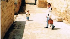Clara y yo en Córdoba
