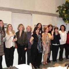 """En la presentación de """"Mujeres en la historia"""", Madrid, 15 de abril del 2016."""