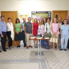 Después de la presentación de «El silencio de la ciudad blanca» de Eva G. Sáenz de Urturi. Alicante, 30 de septiembre del 2016.